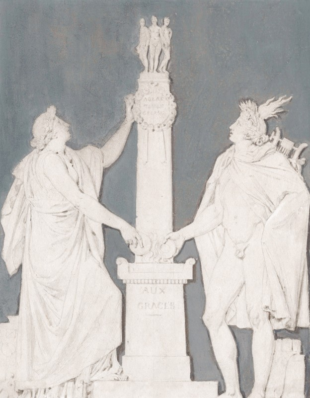 13 Fragonard Graces Sevres 22,2 x 17,2