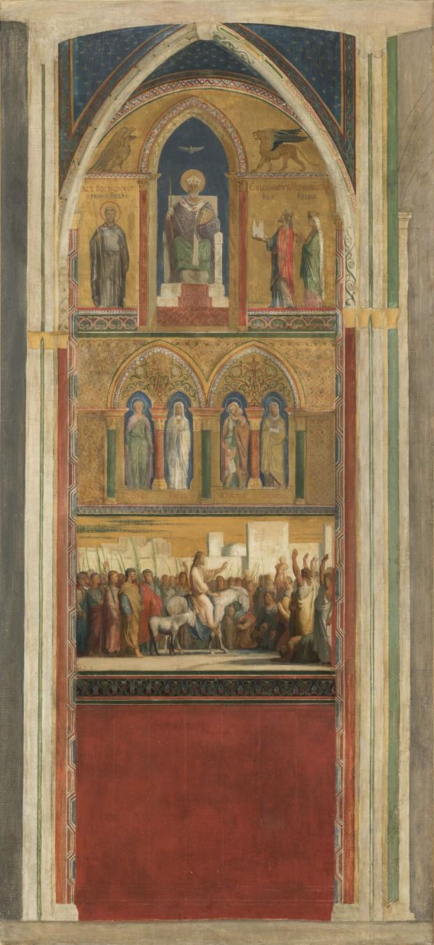 16 H Flandrin Christ Saint Germain
