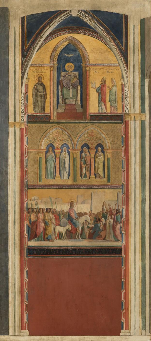 17 H Flandrin et atelier Christ Saint Germain