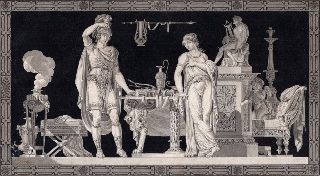 4 Charles Normand Mars et Venus 10x19