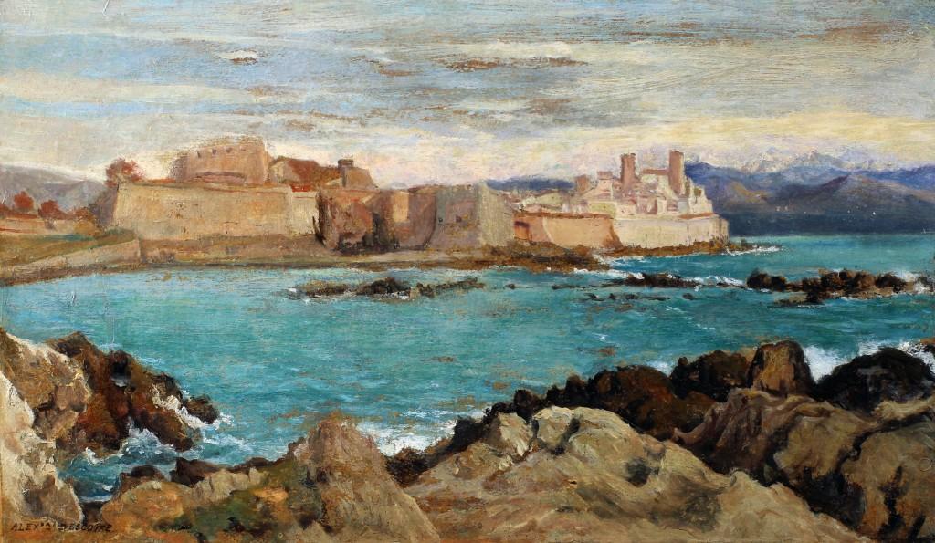 Alexandre Desgoffe Fort d'Antibes