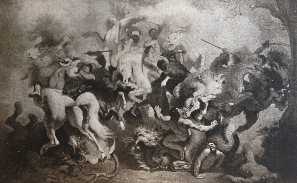 Anquetin combat