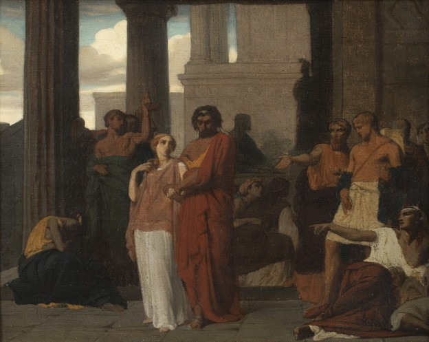 Benouville Oedipe et Antigone