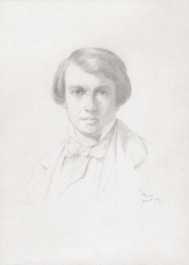 Benouville Portrait  16,5 x 22 copie