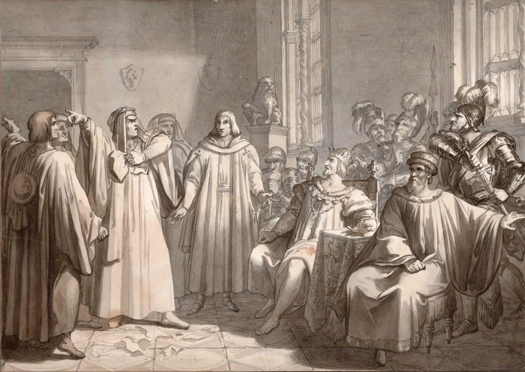 Bezzuoli Pier Capponi e Carlo VIII (Copier)
