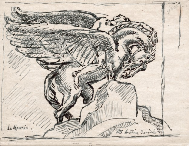 Bourdelle Poete et Pegase 18,5x24_0001
