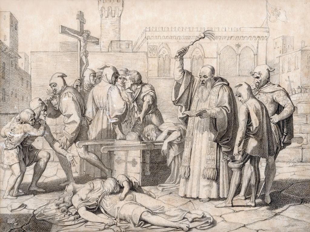 Calamai Peste di Firenze del 1348 27 x 36 1 (Copier)