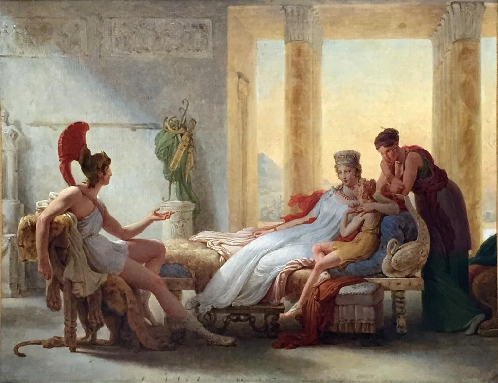 Esquisse Didon Louvre