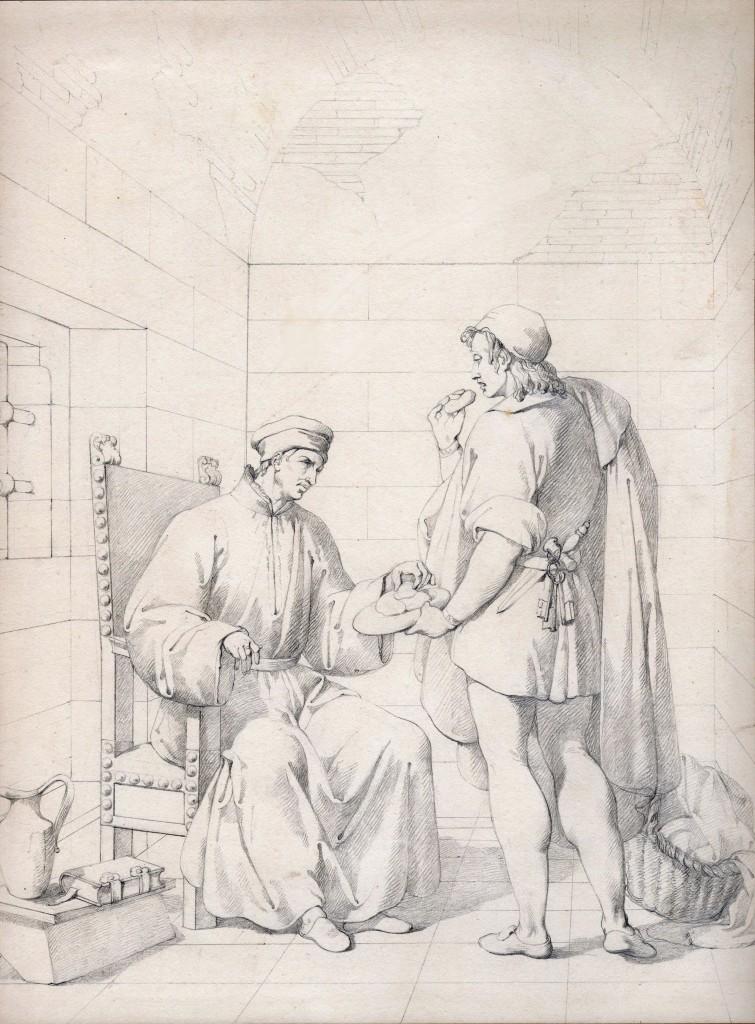 Gazzarrini Cosimo di Medici in carcere 36 x 26,5 cm (Copier)
