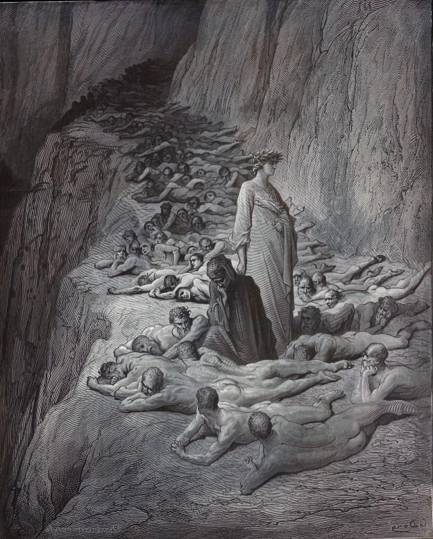Gustave Doré Purgatoire