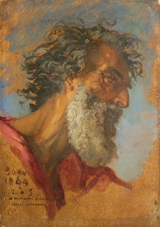 Lehmann Henri, Tobit, 19x13,5 cm