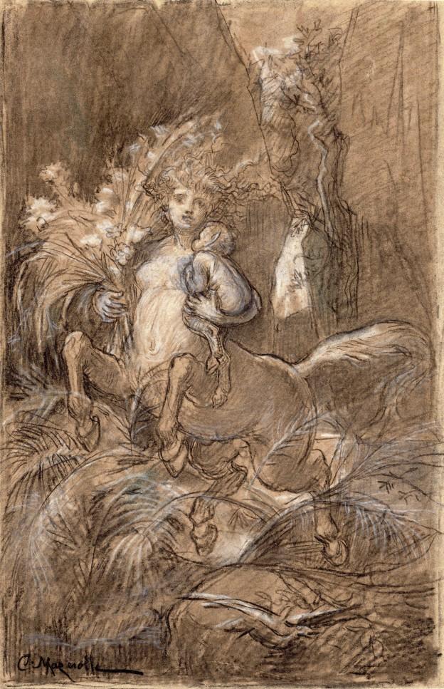 Mazerolle Centauresse  28,5x18,5