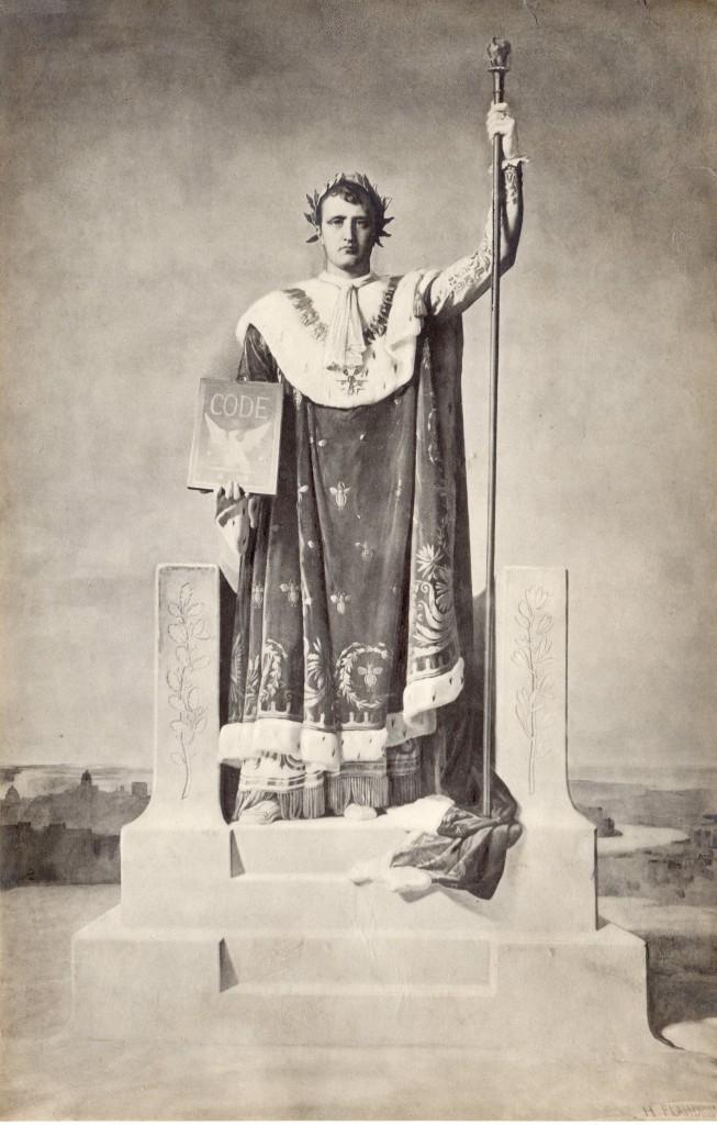 Photo Napoléon Flandrin 29x18,5 cm