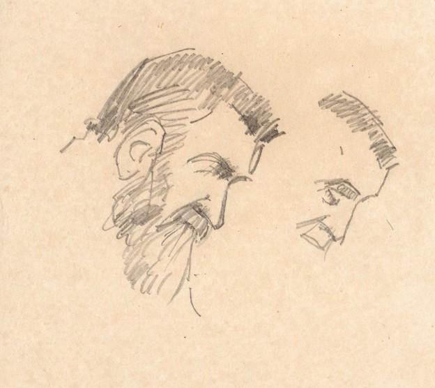 Portrait de Harpignie par JJ Henner recadré