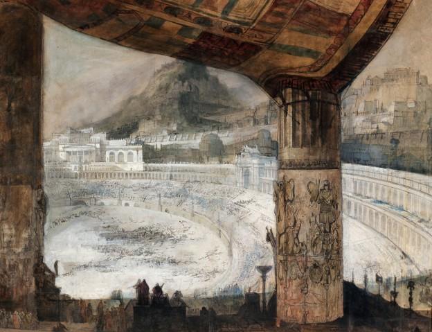 Projet de Decor ciceri Degotti Colisée
